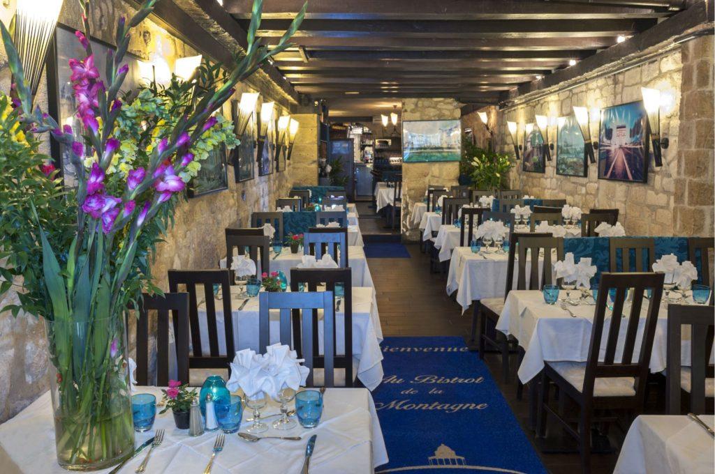 Salle 80 places - restaurant groupe Paris pour repas de groupe et banquet